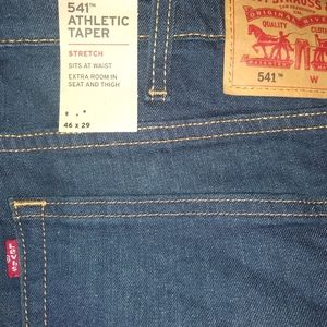 COPY - Men's Big & Tall Levi's  541  jeans